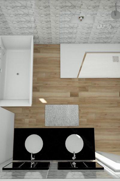 plan 3D salle de bains