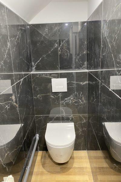 création wc palier