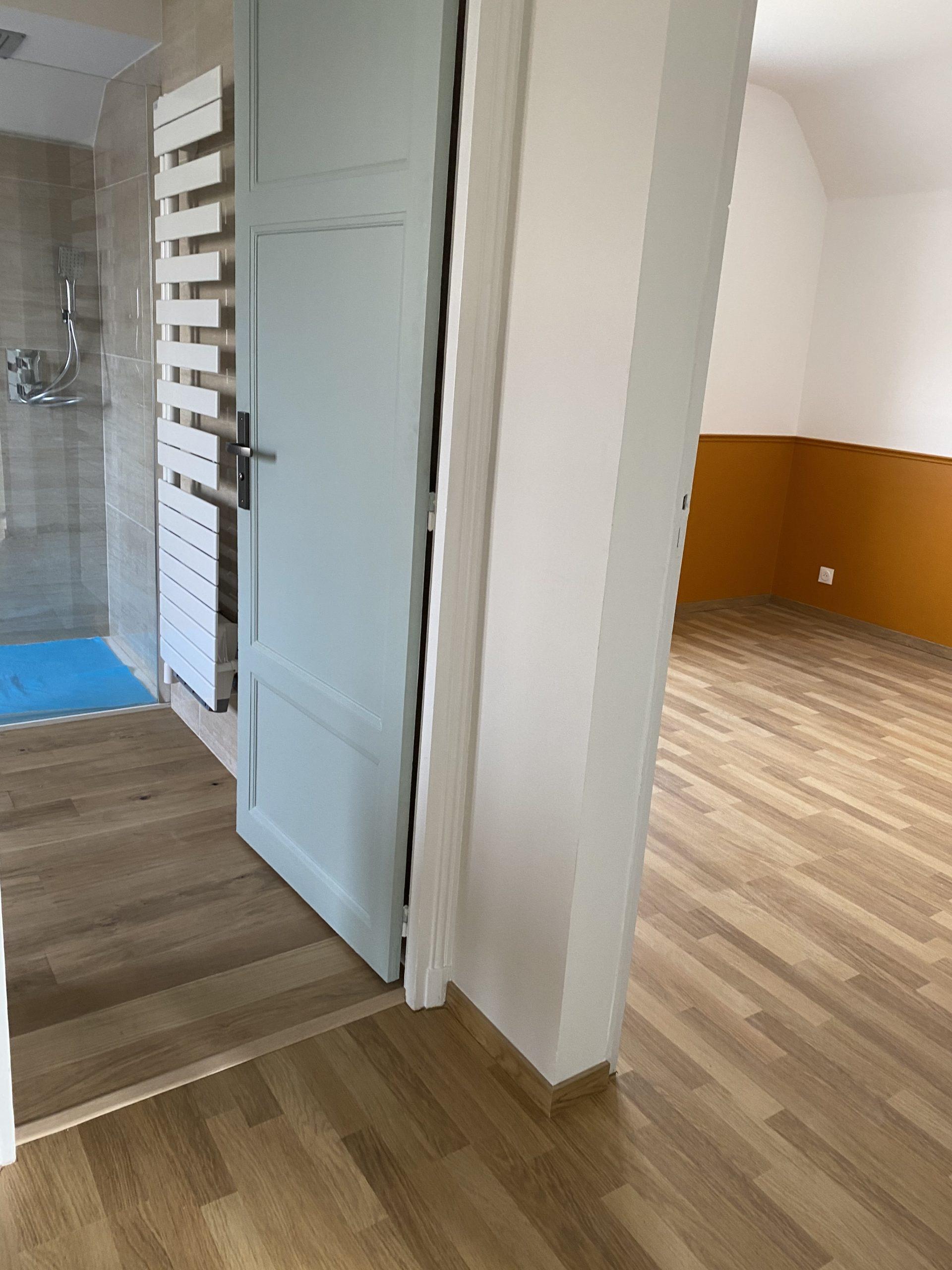 Renovation chambre et wc